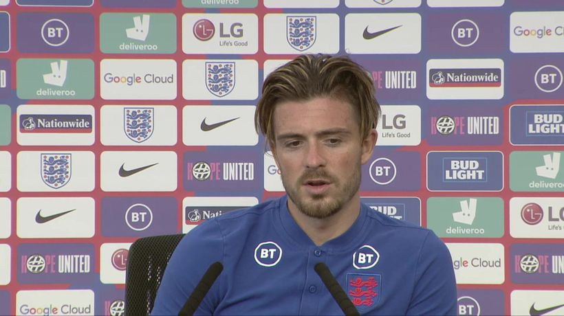 England's Jack Grealish on their Euro 2020 campaign