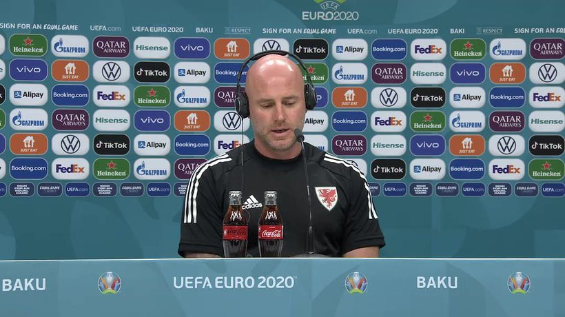 Rob Page and Gareth Bale previews Wales Euro opener v Switzerland