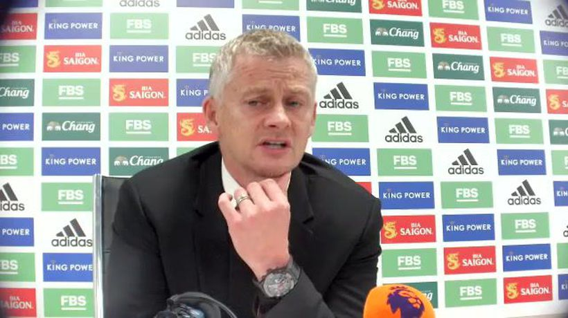 Solskjaer disappointed by Utd performance in 4-2 Leicester defeat