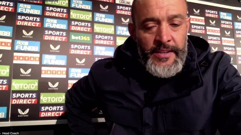 Nuno on Spurs win and medical stoppage during the game