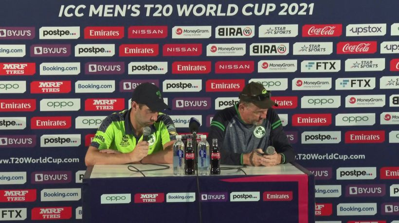 T20 World Cup - Andrew Balbirnie and Graham Ford preview Ireland - Sri Lanka