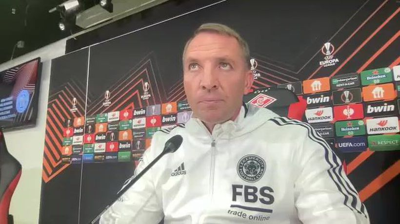 Brendan Rodgers admits Leicester need Europa League points to qualify