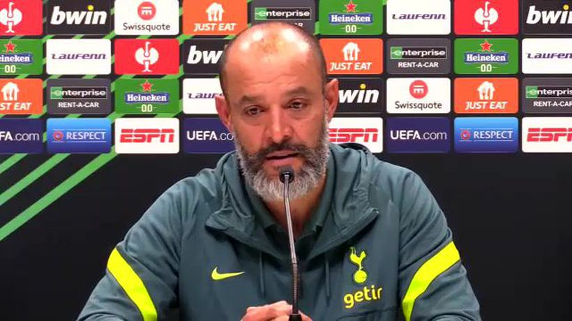 Nuno - Spurs want to win Europa Conference League