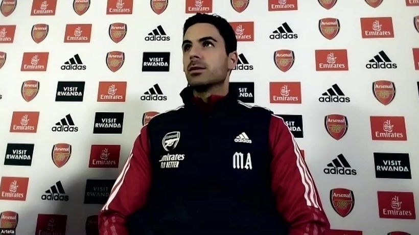 Arteta impressed by Villa form as he refuses to name injuries