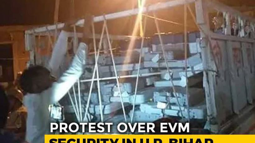 Questions Raised Over Movement Of EVMs In UP, Bihar After Videos Surface