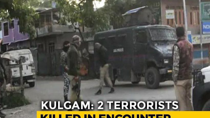 2 Terrorists Killed In Encounter in J&K's Kulgam, Cache Of Arms Seized