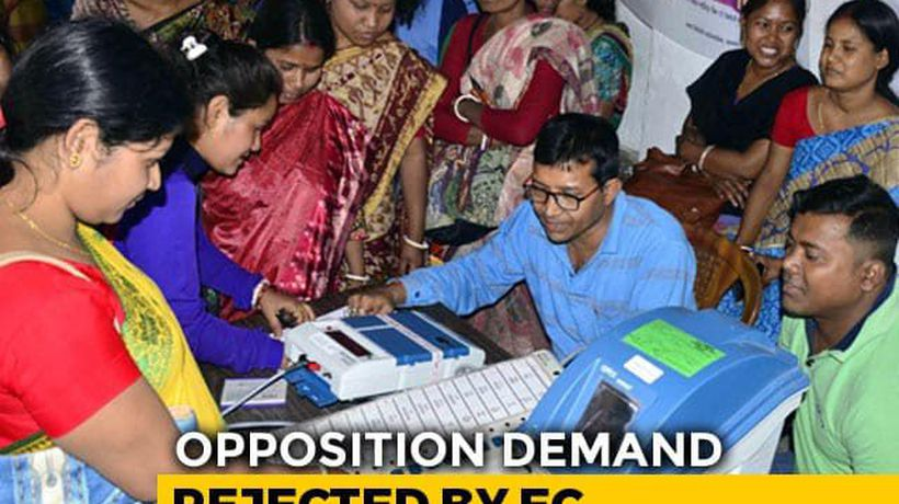 Opposition Demand On VVPATs In Counting Process Rejected By Election Body