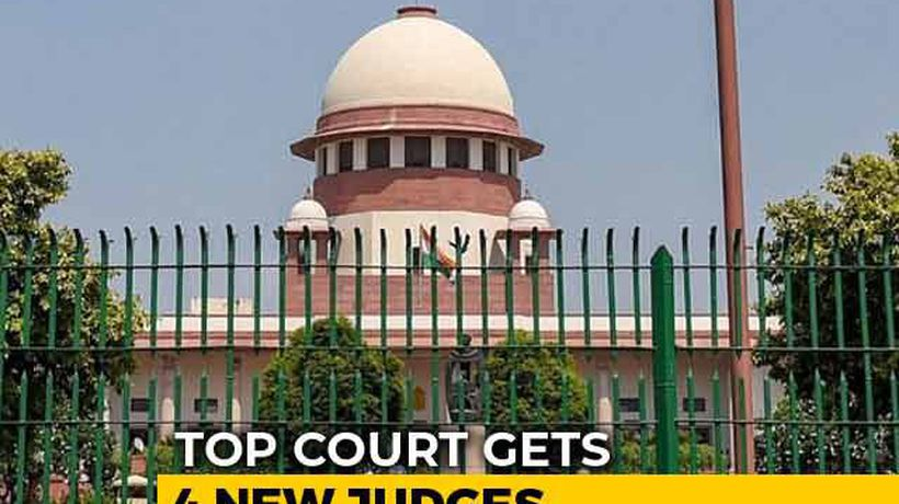 Top Court Gets 4 New Judges As Collegium Overrules Centre's Objections