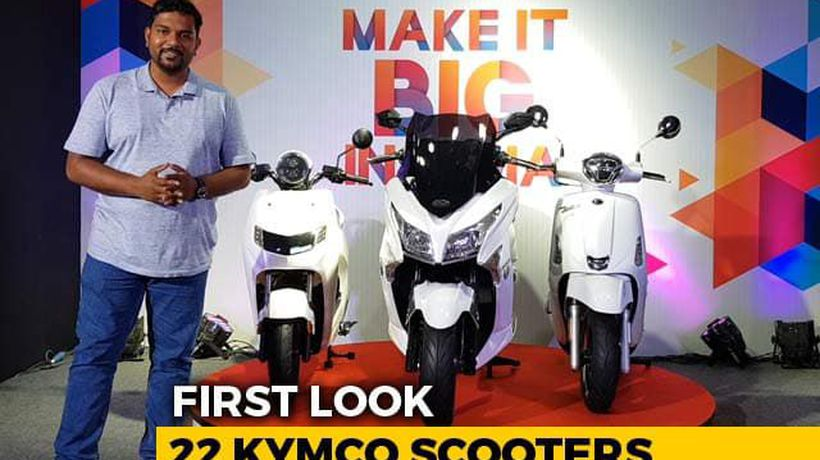 22 Kymco Scooters First Look