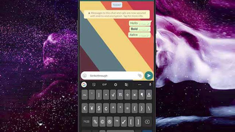 How to Send WhatsApp Messages in Bold, Italics, Strikethrough, and Monospace