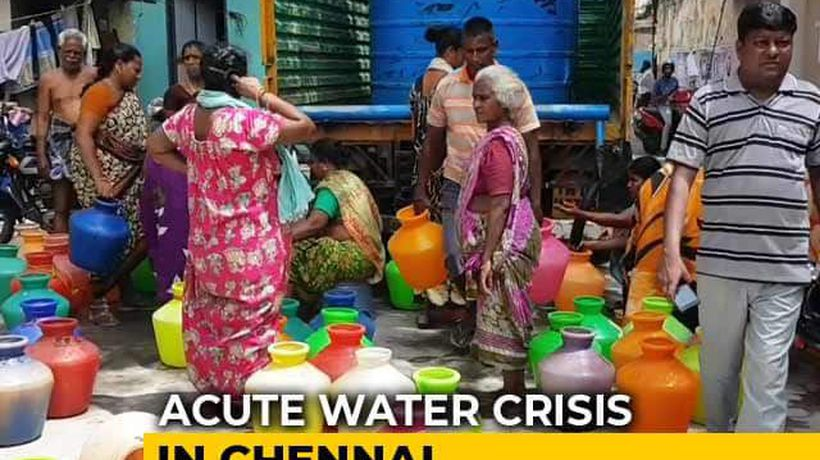 Despite Searing Heat, Piped Water Supply Cut By 40 Per Cent In Chennai
