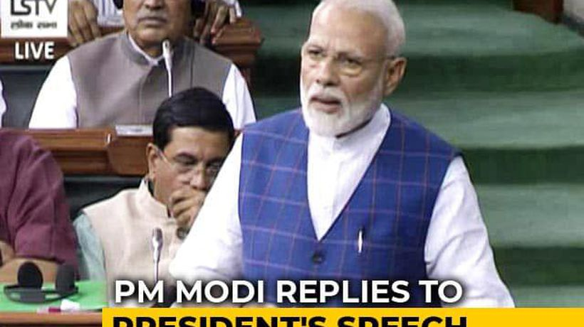 """Strong Mandate In This Election,"" Says PM Modi In Parliament"