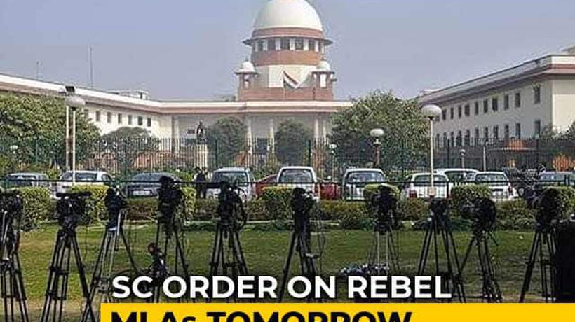 On Karnataka Rebel Lawmakers' Status, Supreme Court Order Tomorrow