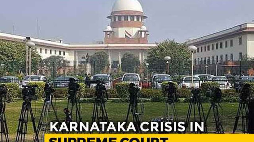 """Karnataka Speaker Free To Decide,"" Says Top Court On Rebel Lawmakers"