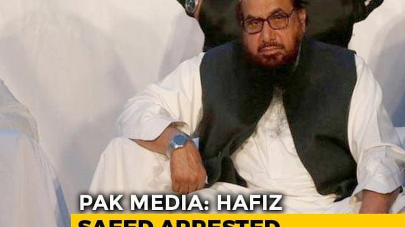 Hafiz Saeed, Mumbai Attacks Mastermind, Arrested, Sent To Jail: Pak Media