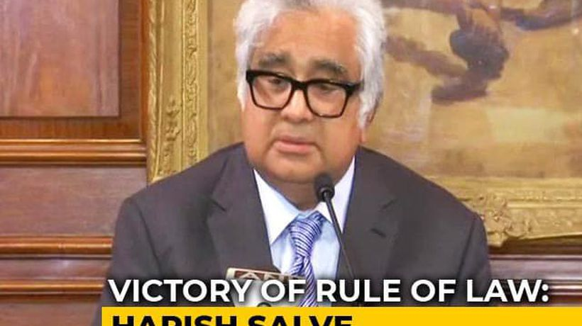 Pak's Conduct Under Watch, Harish Salve Tells After Kulbhushan Jadhav verdict