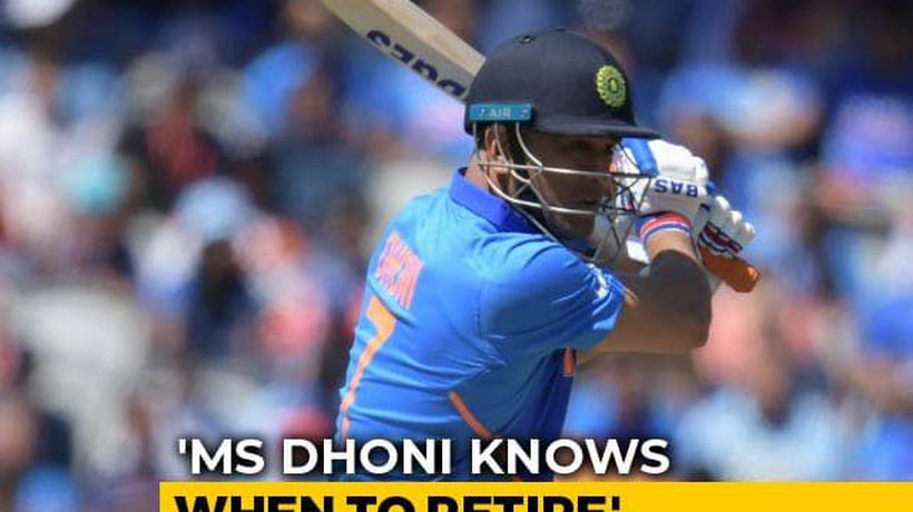 """A Legendary Cricketer Like Dhoni Knows When To Retire"": Chief Selector"