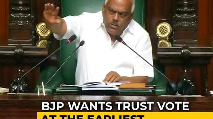 Karnataka Speaker Summons Rebel Lawmakers Tomorrow Amid Trust Vote Row