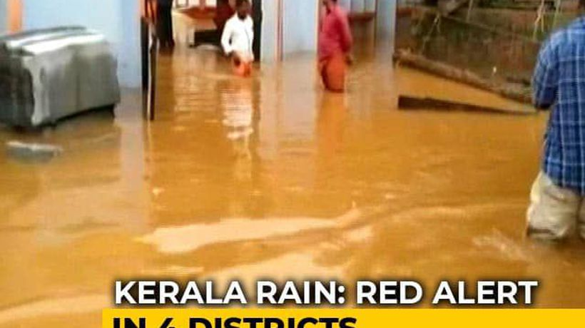 4 Dead, 3 Missing After Days Of Heavy Rain In Kerala