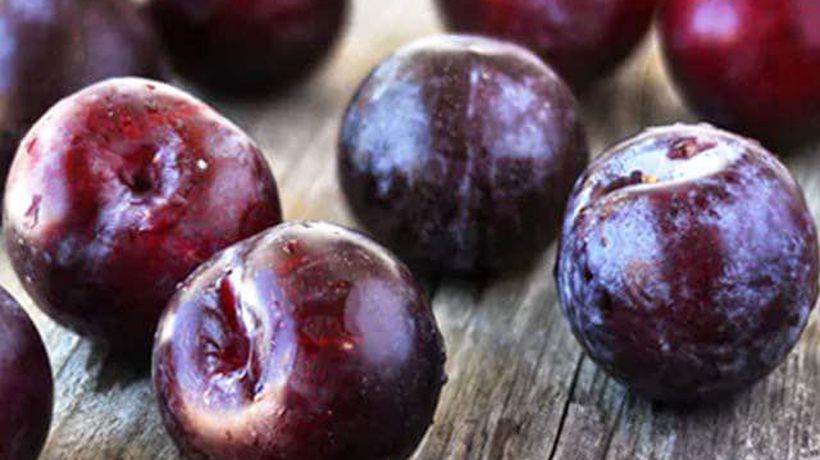 Purple Coloured Summer Fruits