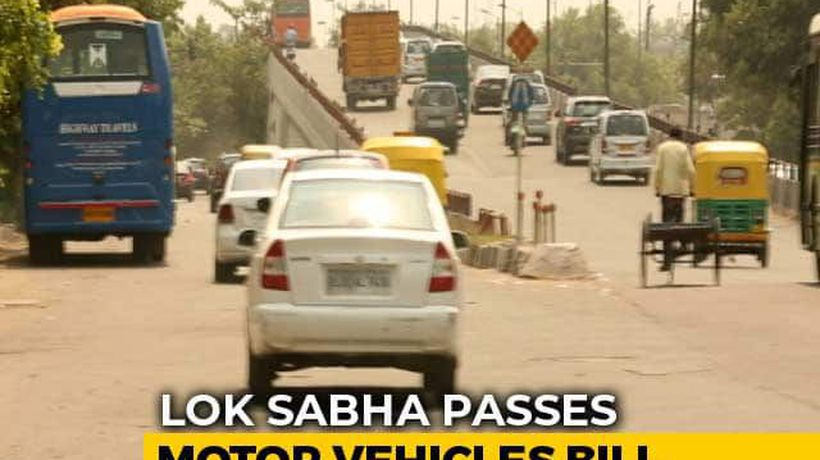 Stricter Penalty For Traffic Violation In Centre's Motor Vehicles Bill
