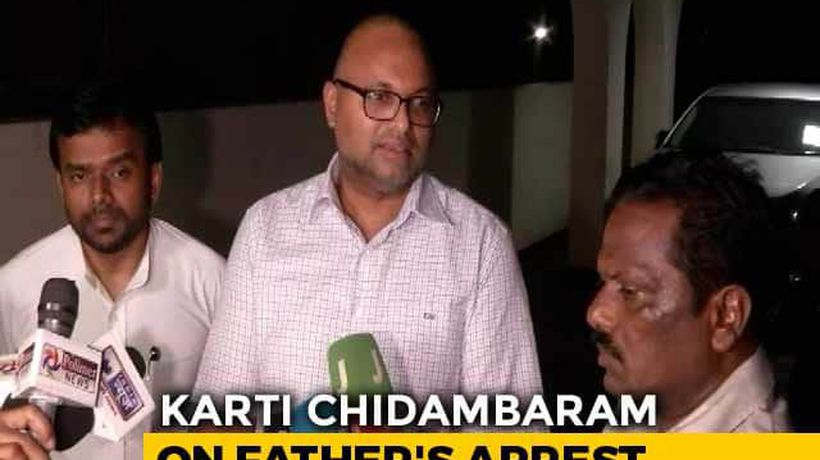 """Drama For Viewing Pleasure Of Some"": Karti Chidambaram On Father's Arrest"