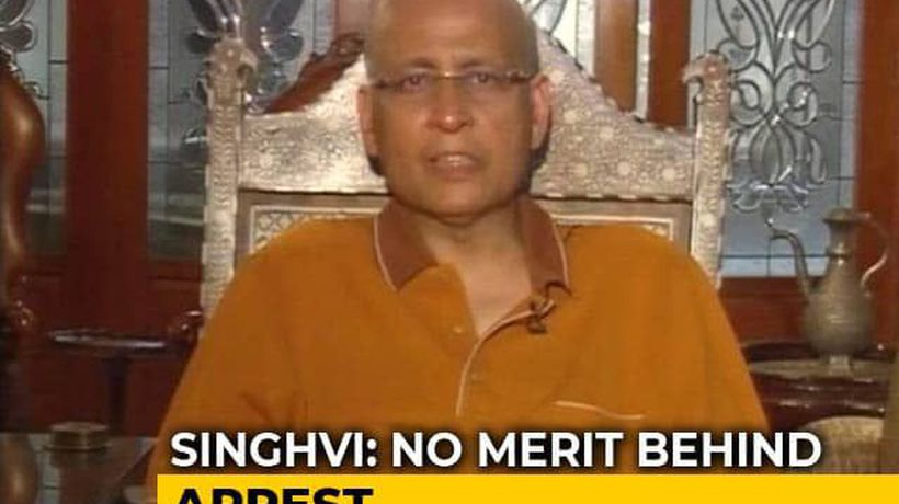 There Was An Attempt To Declare Him Absconder: Abhishek Singhvi