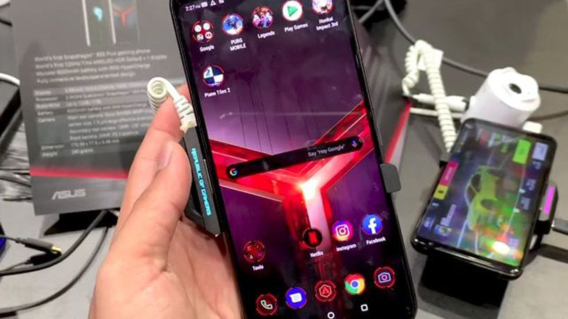 Asus ROG Phone 2 First Look- The New Powerful Gaming Smartphone