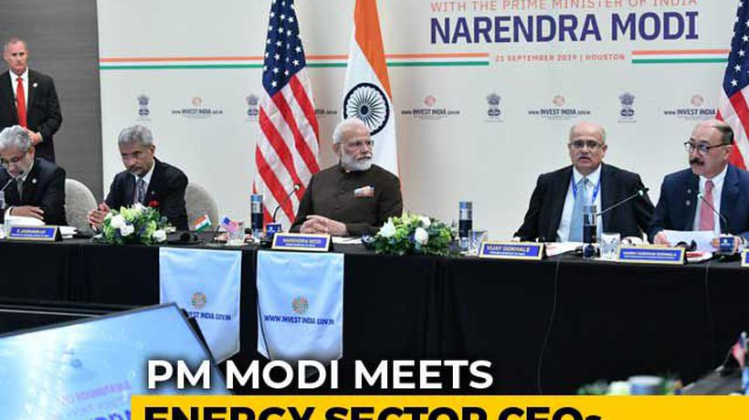 """Impossible To Come To Houston And..."": PM Meets Energy Sector CEOs"
