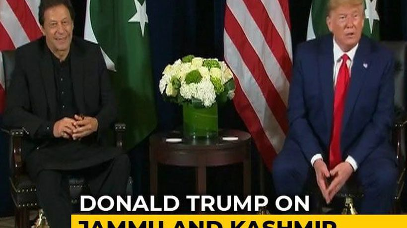 """Can Be Good Arbitrator On Kashmir"": Trump In Meeting With Imran Khan"