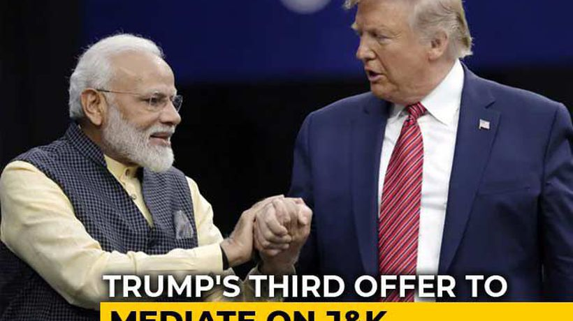 "India Reasserts Position On J&K, Says ""Just Hold On"" For PM-Trump Meet"