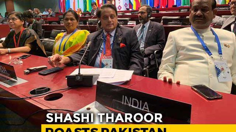 """Vituperative Mudslinging"": Shashi Tharoor Roasts Pak On Kashmir"