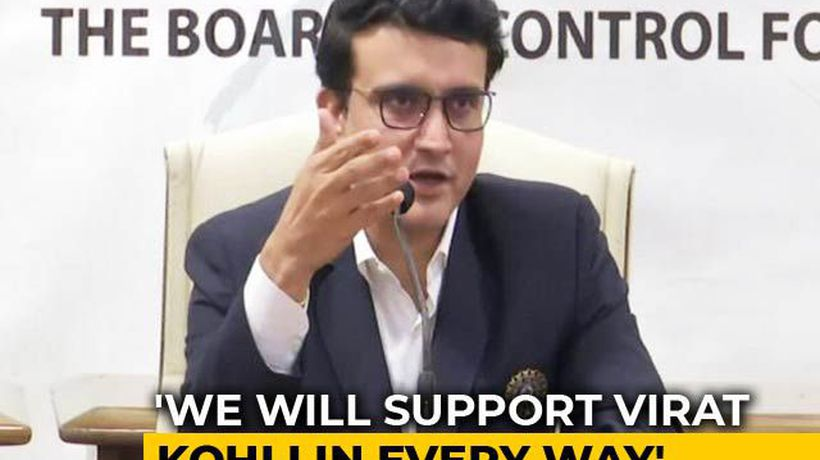 """Kohli Most Important Man, Will Listen To Him"": BCCI Chief Sourav Ganguly"