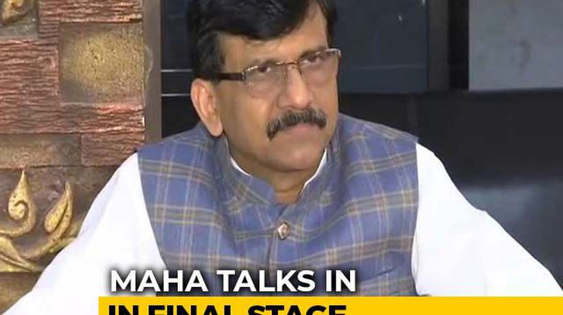 Shiv Sena Chief Minister For 5 Years: Sanjay Raut Amid Talks With NCP-Congress