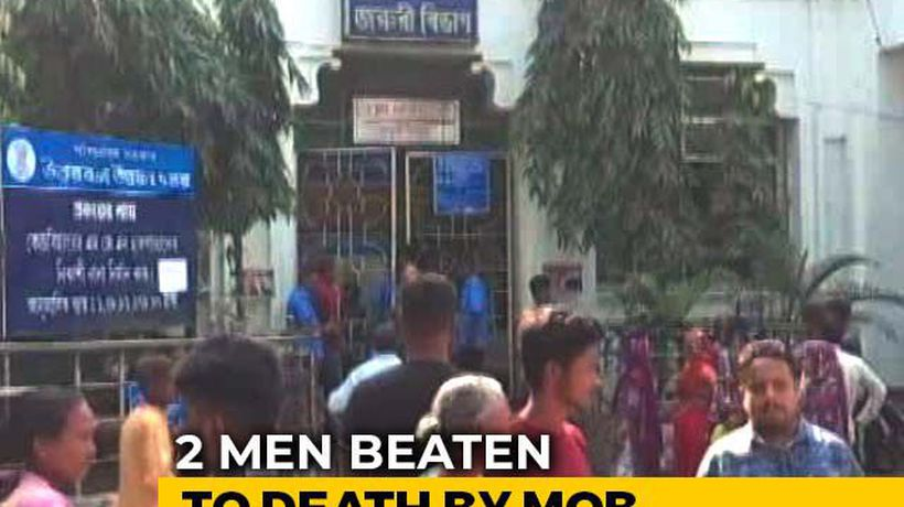 2 Men Beaten To Death By Mob In Bengal Over Suspicion Of Cattle Theft