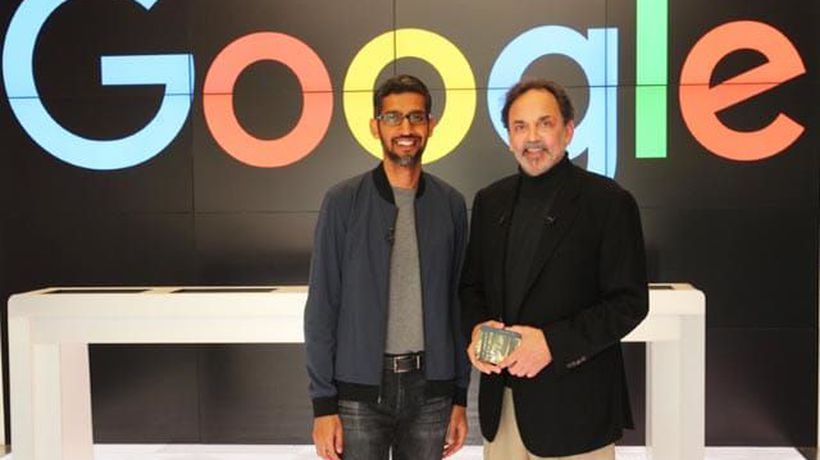 Google Co-Founders Step Aside For Sundar Pichai - Watch His Interview(Aired: October 2017)