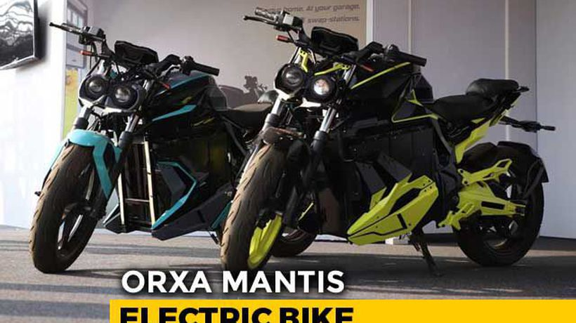 Orxa Mantis Electric Motorcycle First Look
