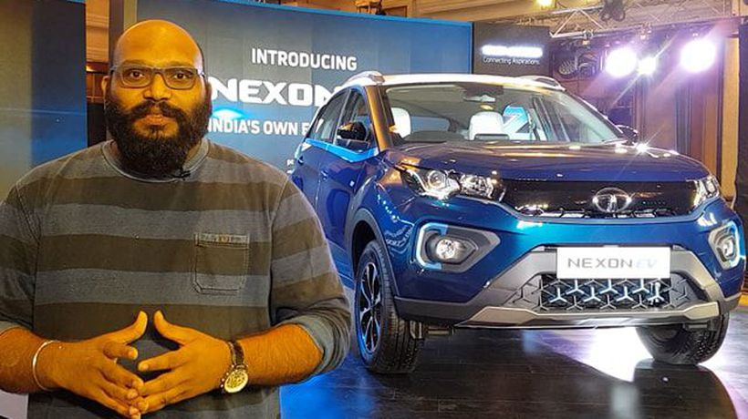 First Look: Tata Nexon EV