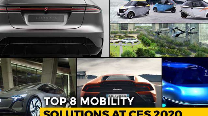 Top 8 Mobility Solutions At CES 2020