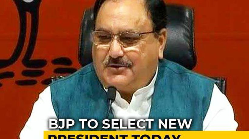 JP Nadda Likely To Take Over From Amit Shah As New BJP Chief Today
