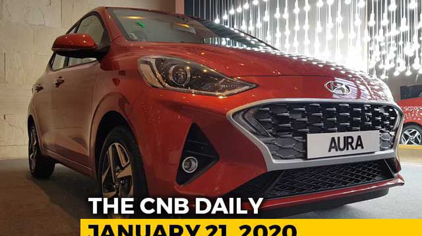 Hyundai Aura Launch, BS6 Ford EcoSport, KTM 390 Adventure