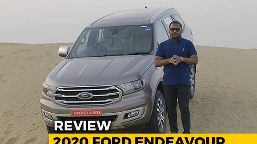 2020 Ford Endeavour Review
