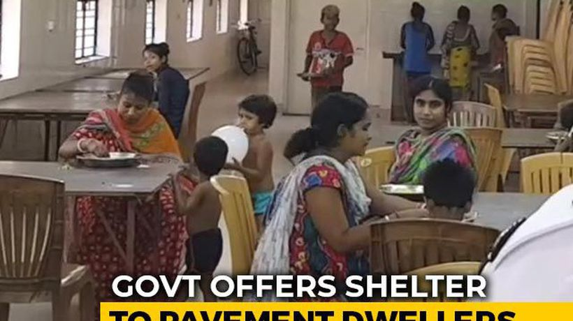 Bengal Government Offers Shelter To The Homeless