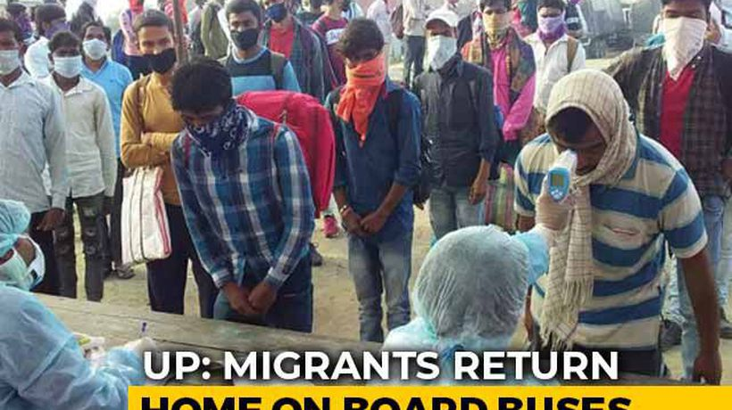 14-Day Mandatory Quarantine For Lakhs Of Migrants Returning To UP, Bihar