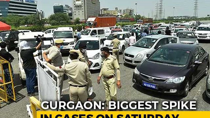 Gurgaon Saw More COVID-19 Cases In 3 Days Than Two Months