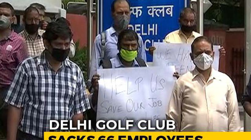 66 Staff In One Of India's Most Exclusive Golf Clubs In Delhi Fired Amid Pandemic