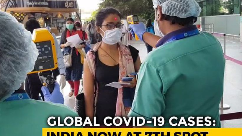 India Climbs To 7th From 9th Spot Among 10 Nations Worst-Hit By COVID-19