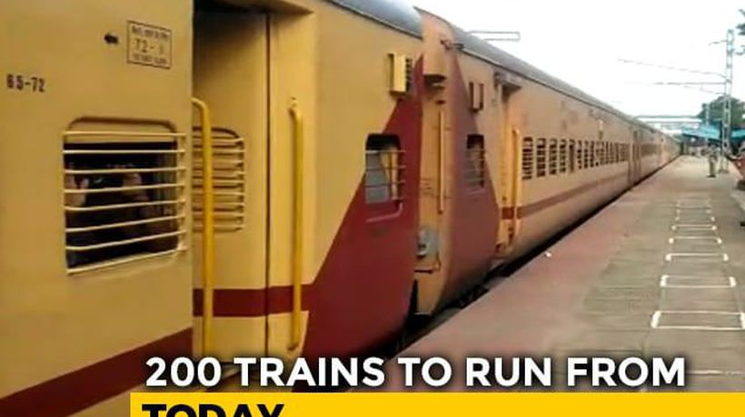 1.45 Lakh Passengers To Travel Today As 200 Trains Restart Amid Lockdown
