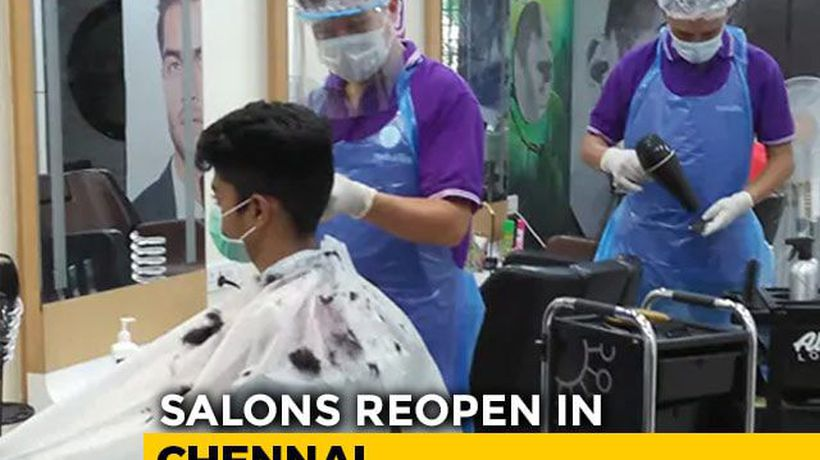 Chennai Salons Reopen After Two Months, Mask, Gloves, Apron And No AC