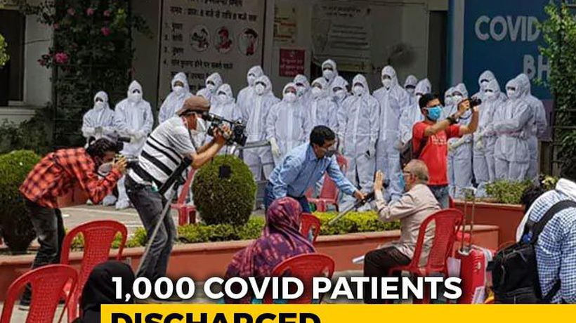 Madhya Pradesh COVID Hospital First In India To Discharge 1,000 Patients
